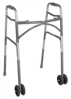 10220 1 - Walker, Bariatric, Aluminum, Folding,