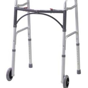 1075C 300x300 - Walker, Adult, Folding, 2 Button Release, Aluminum
