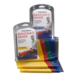 20403 300x300 - Theraband Multipack, 5' Cuts, Yellow, Red, & Green