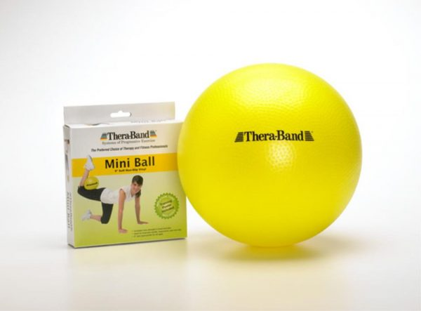 """23085 600x443 - TheraBand Mini Ball 9"""" Diameter"""