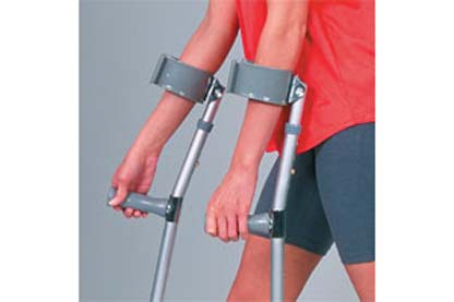 23400 - Forearm Crutches, Pair