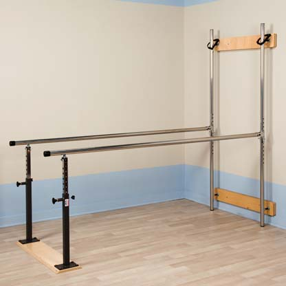3307 - Parallel Bars, Folding, Wall Mounted