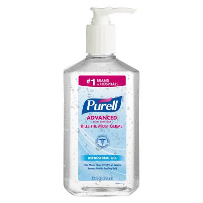 3659 12 - Purell Instant Hand Sanitizer, 12 oz Pump Bottle
