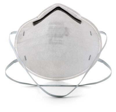 3mtm particulate respirator 8200 n95 - 3M N95 Particulate Respirator Face Masks, 95% Particle Filtration, 20/Box