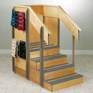 4 8020 300x300 - Staircase, Straight, 3 Sides of Storage, 4 Steps