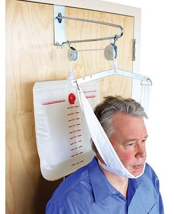 50 1000 - Overdoor Cervical Traction Kit (Overdoor Pulley, Water Bag & Halter)