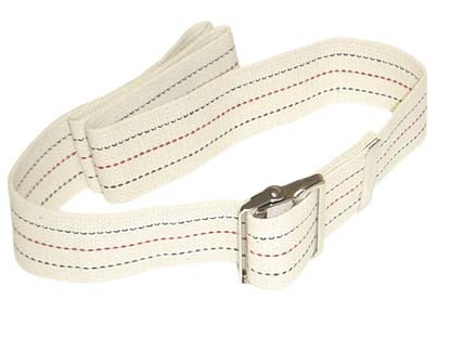 50 5130 48 - Gait Belt, Metal Buckle, Stripped