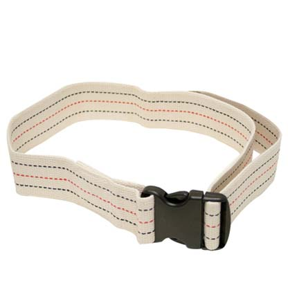 50 5131 54 - Gait Belt, Quick Release Plastic Buckle