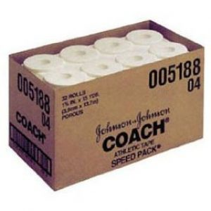 "5188 300x300 - J&J Coach Porous Athletic Tape, 1½"" x 15 yds, 32/cs"