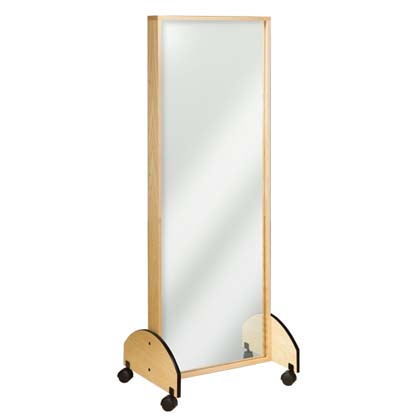 """6210 - Mirror, Portable, 27""""W x 21""""D x 72""""H"""