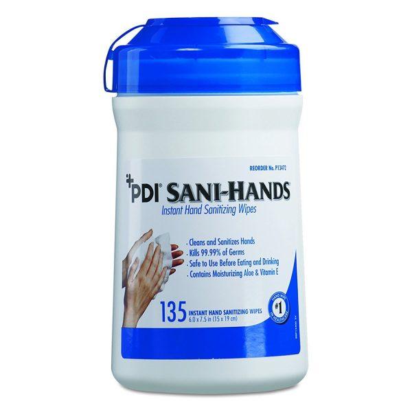 71ybFGoFwDL. SL1500  600x600 - Sani-Hands Instant Hand Sanitizing Wipe, 135 Wipes