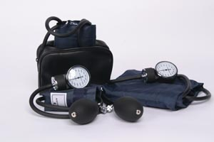 776XZ - Sphygmomanometer, Large Adult, Navy, Latex Free
