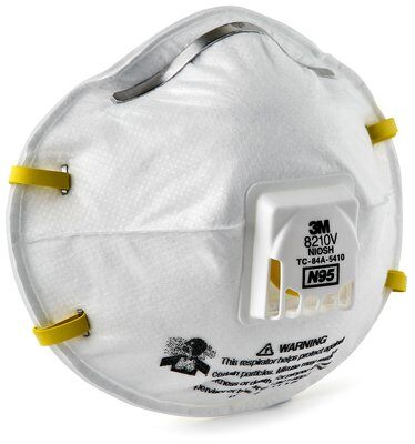 8210V 1 - Mask, N95 Particulate Respirator, Molded, Cool Flow™ Valve (Box of 10)
