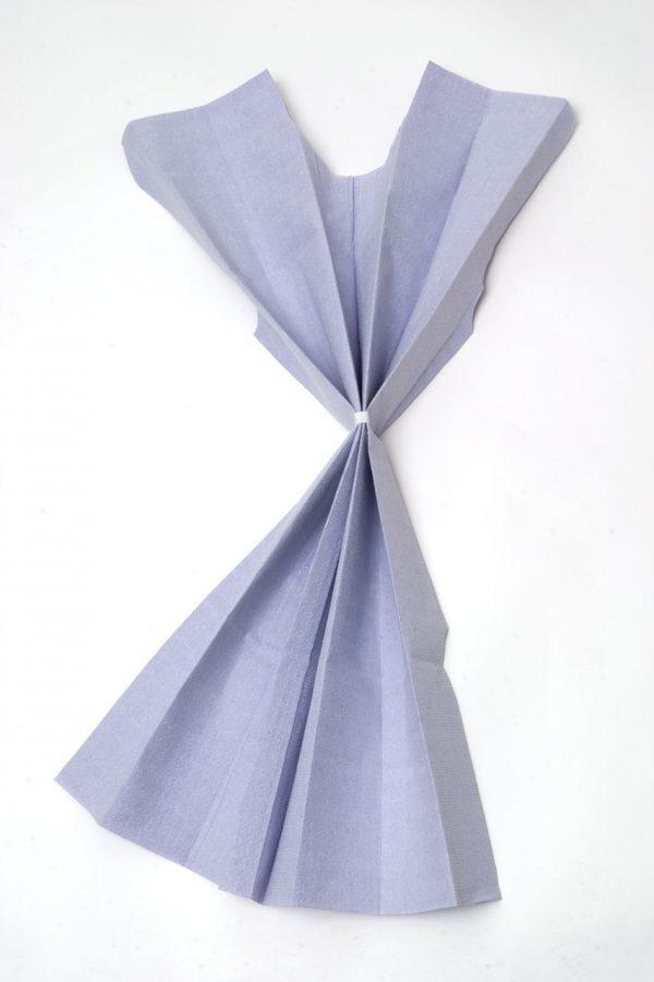 823 600x900 - Gowns, Disposable, Blue, Paper, 50/case