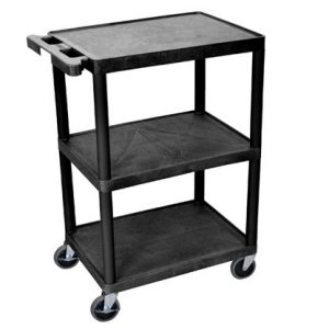 Cart Mobile Plastic 3 Shelves 300x300 - Cart,-Mobile,-Plastic,-3-Shelves