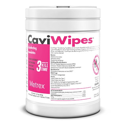CaviWipes 1 - CaviCide Wipes (Caviwipes), Surface Disinfectant, 160 Wipes