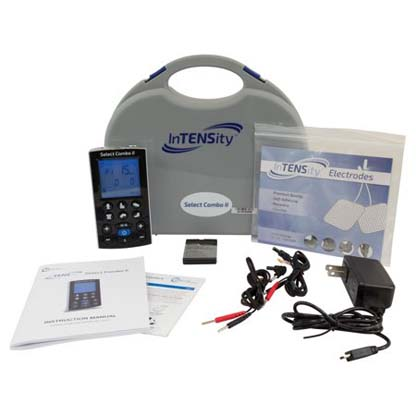 DI2195 - InTENSity Select Combo II TENS/NMES/IF/RUSS Unit