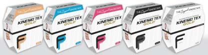 GKT14125FP - Kinesio Gold FP Tape, Bulk Roll