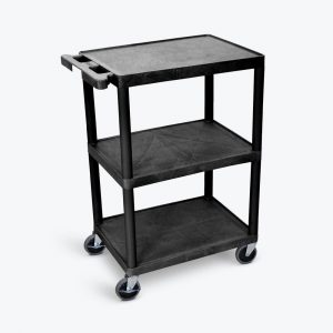 HE34 B 300x300 - Cart, 3 Shelves, Plastic