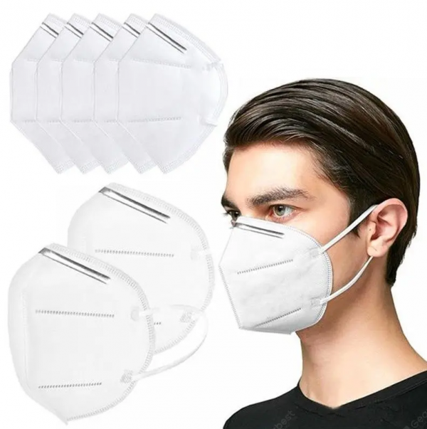 KN95 Pic  600x603 - KN95 Protective Face Masks, 95% Particle Filtration, 10 Pack