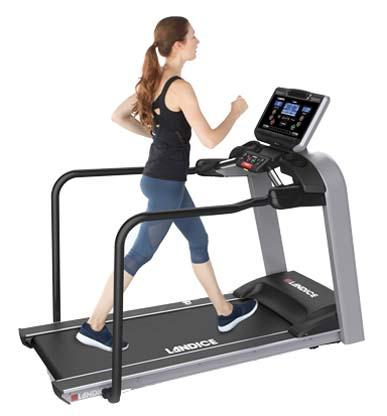 L8 90RTM - Landice L8 Rehabilitation Treadmill w/ Med Rails
