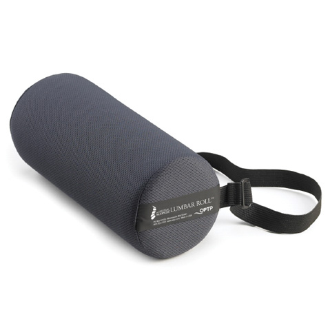 "McKenzie Lumbar Roll Density - McKenzie Lumbar Roll w/ Strap, Standard Density, 11""L x 4¾""D"