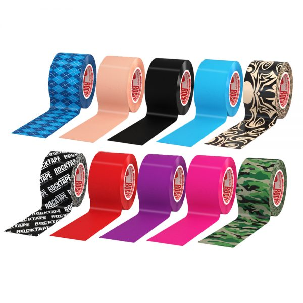 Rock Small Rolls 600x600 - Rocktape, Small Roll