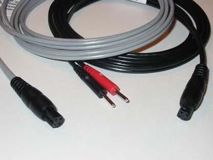 W17612 - Leadwire, Quad Socket to Dual Pins