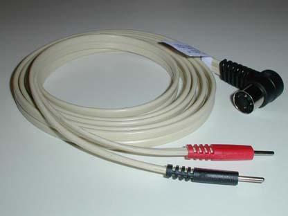 W7412 - Leadwire, Right Angle 3 Pin DIN