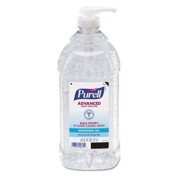 k3e6f0qo6hi0ka1ddrzr 600x600 - Purell Instant Hand Sanitizer, 2 Liter Pump Bottle